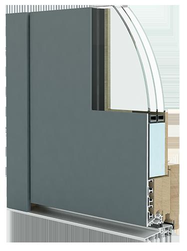 portes et fenêtres en Aluminium et bois
